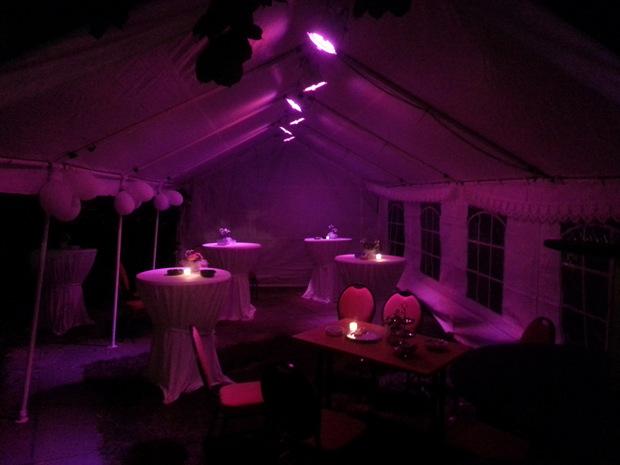 Bruiloft partytent
